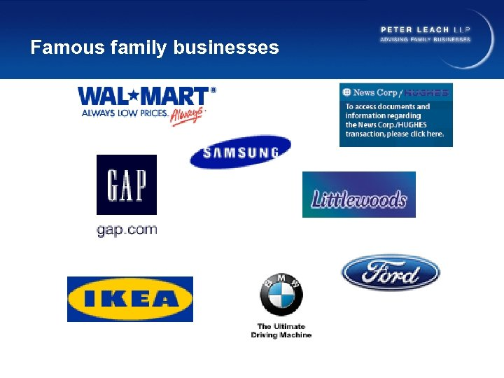 Famous family businesses