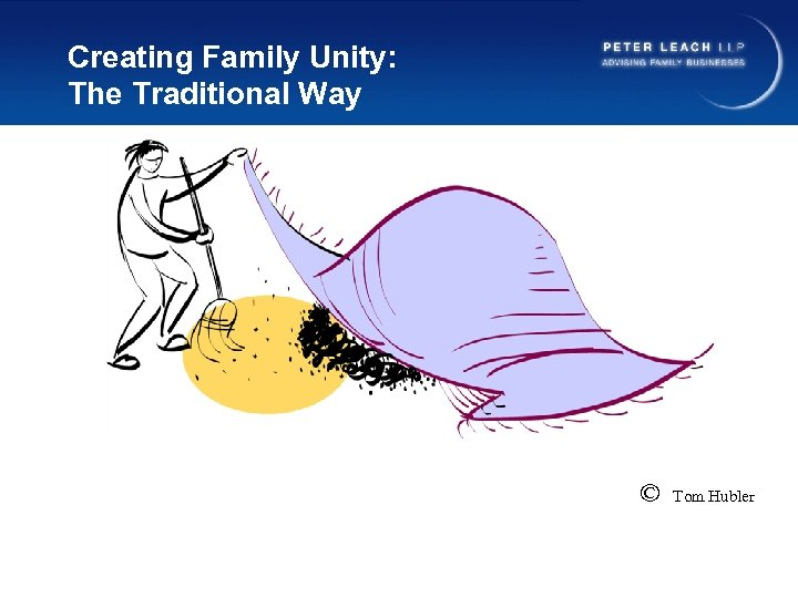 Creating Family Unity: The Traditional Way © Tom Hubler