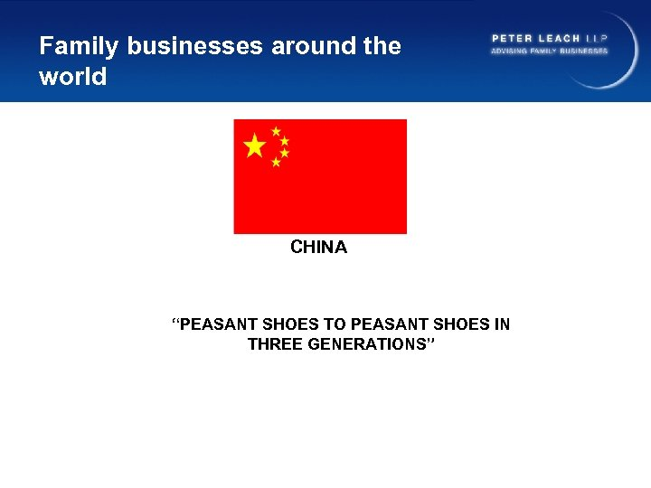 """Family businesses around the world CHINA """"PEASANT SHOES TO PEASANT SHOES IN THREE GENERATIONS"""""""