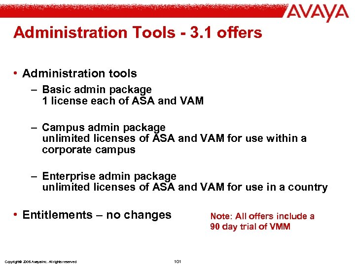 Administration Tools - 3. 1 offers • Administration tools – Basic admin package 1