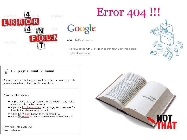 Error 404 !!!