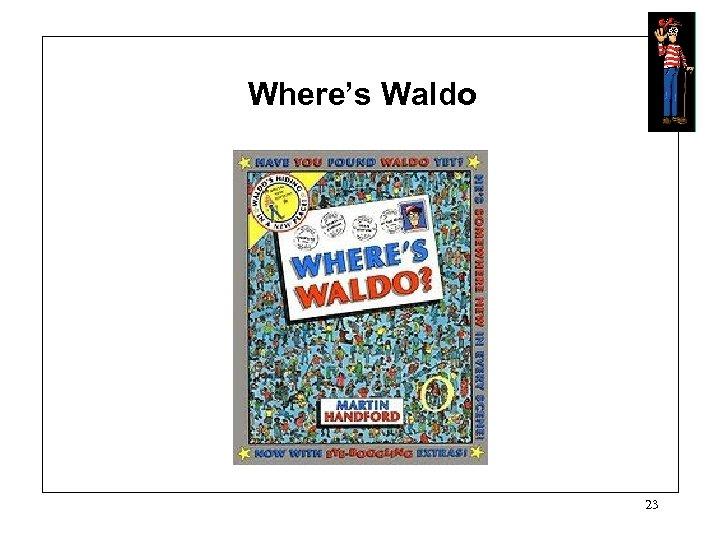 Where's Waldo 23