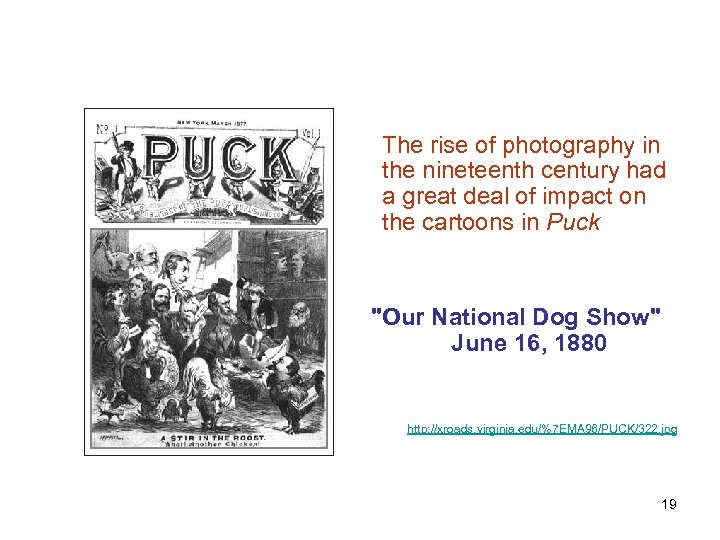 The rise of photography in the nineteenth century had a great deal of impact