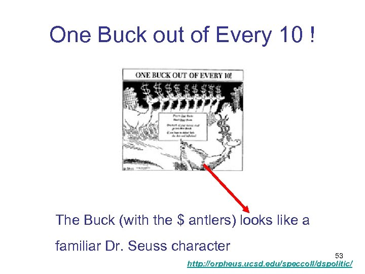 One Buck out of Every 10 ! The Buck (with the $ antlers) looks