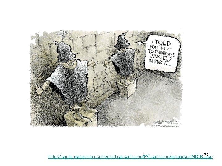 87 http: //cagle. slate. msn. com/politicalcartoons/PCcartoons/anderson. NICK. asp