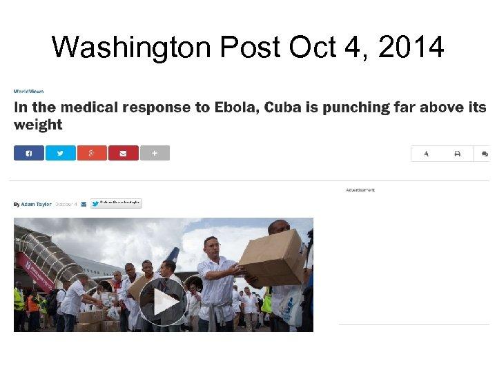 Washington Post Oct 4, 2014