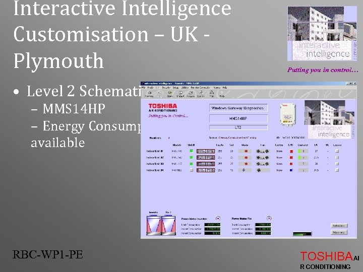 Interactive Intelligence Customisation – UK Plymouth Putting you in control… • Level 2 Schematic