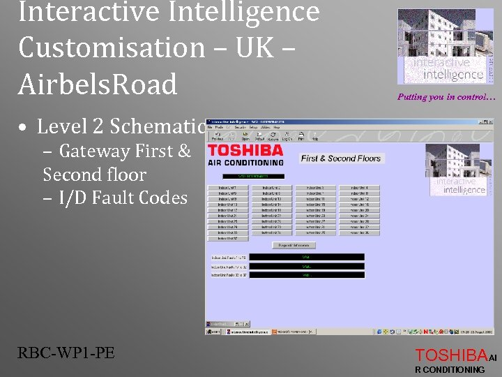 Interactive Intelligence Customisation – UK – Airbels. Road Putting you in control… • Level