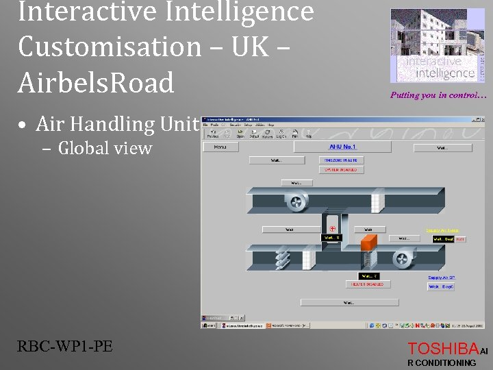 Interactive Intelligence Customisation – UK – Airbels. Road Putting you in control… • Air