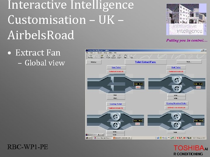 Interactive Intelligence Customisation – UK – Airbels. Road Putting you in control… • Extract