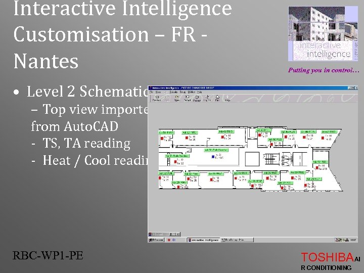 Interactive Intelligence Customisation – FR Nantes Putting you in control… • Level 2 Schematic