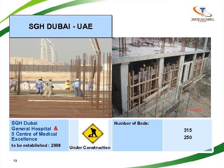 SGH DUBAI - UAE SGH Dubai General Hospital & 5 Centre of Medical Excellence
