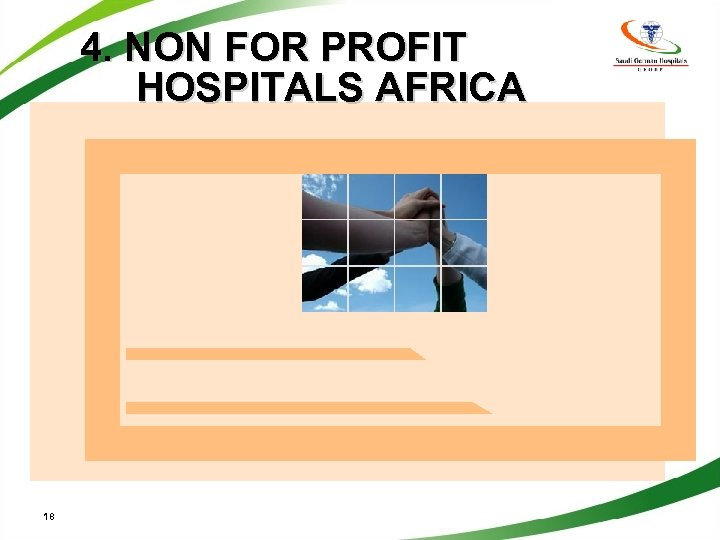 4. NON FOR PROFIT HOSPITALS AFRICA 18