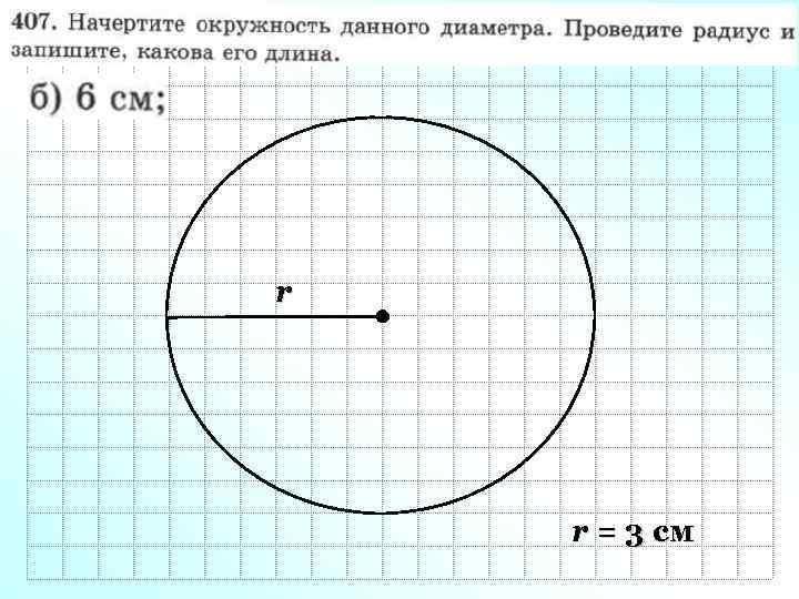 r r = 3 см