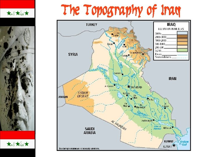 The Topography of Iraq