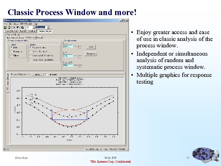 Classic Process Window and more! • Enjoy greater access and ease of use in