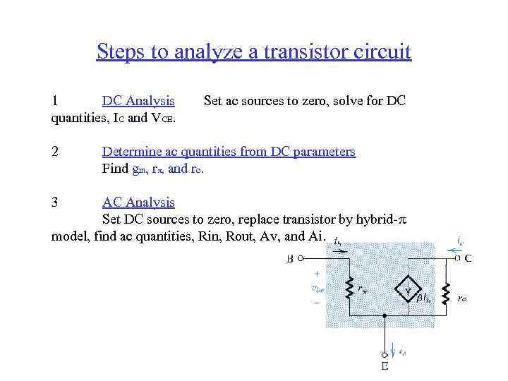 BJT Bipolar Junction Transistor Widely used in