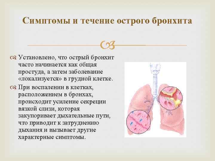 Острый бронхит у беременных история болезни 19
