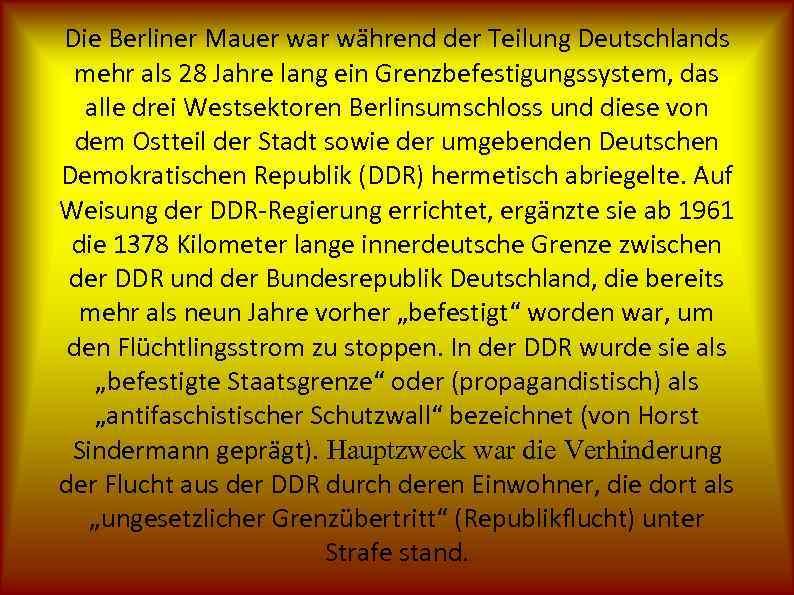 länge der berliner mauer