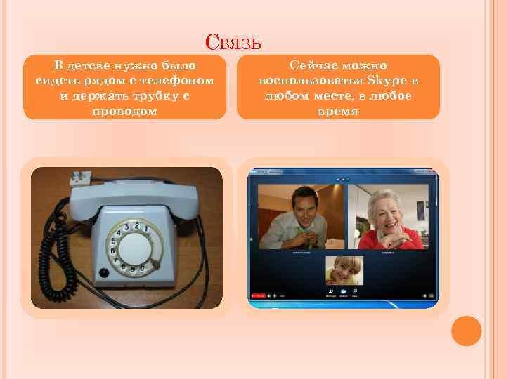 СВЯЗЬ В детсве нужно было сидеть рядом с телефоном и держать трубку с проводом