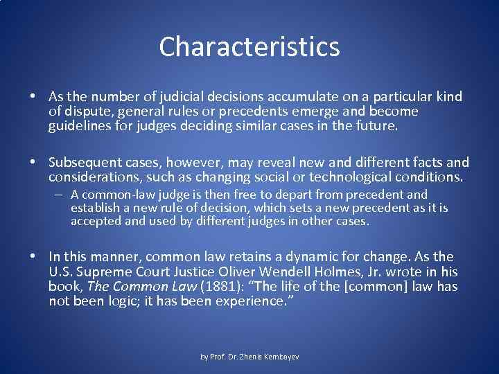 critical analye of the judicial precedent Judicial precedent on the other hand is that 'breakthrough' case that establishes the 'law' & 'opinion' on a particular legal matter that have not yet been or was confronted by the criminal justice system - it becomes a basis or a principle for future similar cases in terms of decisions given.