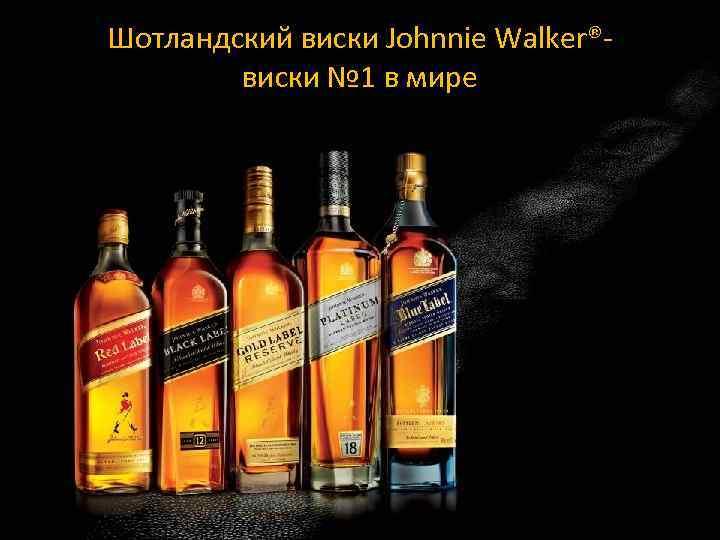 Шотландский виски Johnnie Walker®- виски № 1 в мире