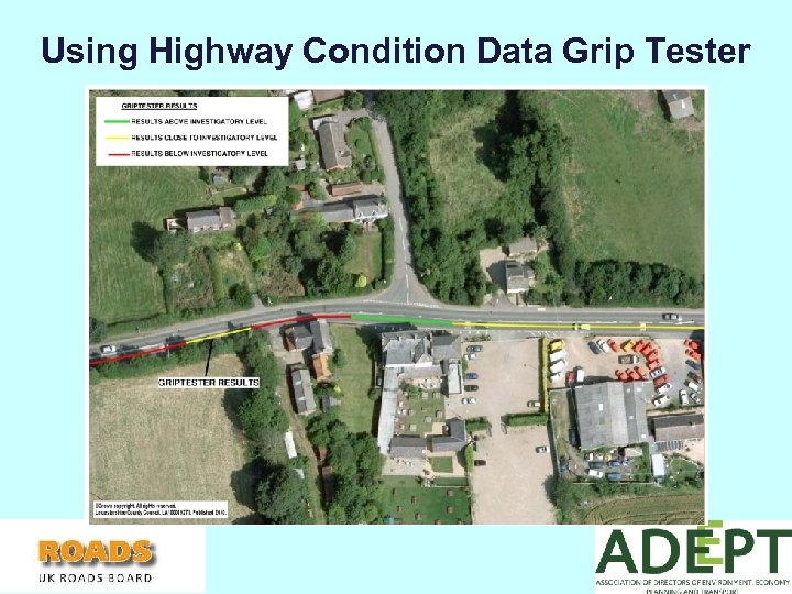 Using Highway Condition Data Grip Tester