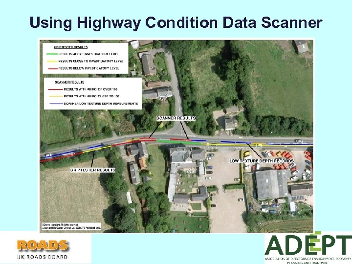 Using Highway Condition Data Scanner