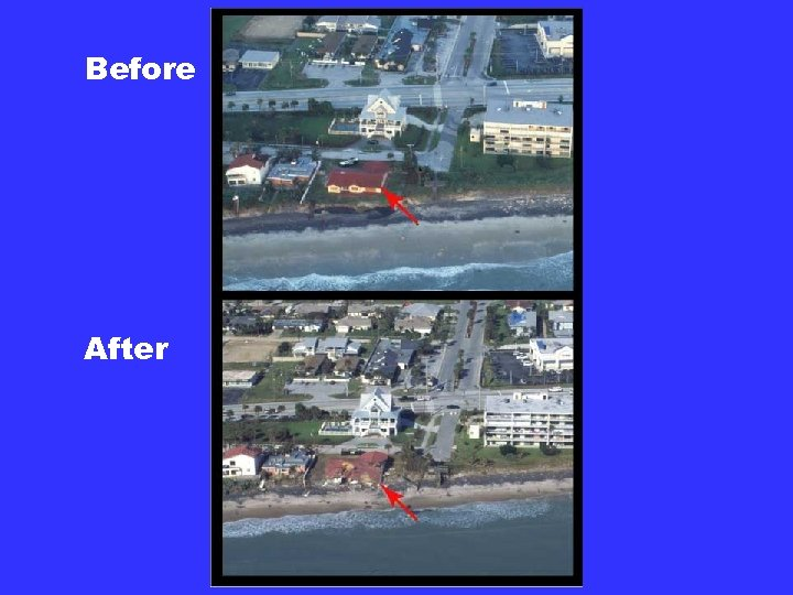 Before After Seawalls