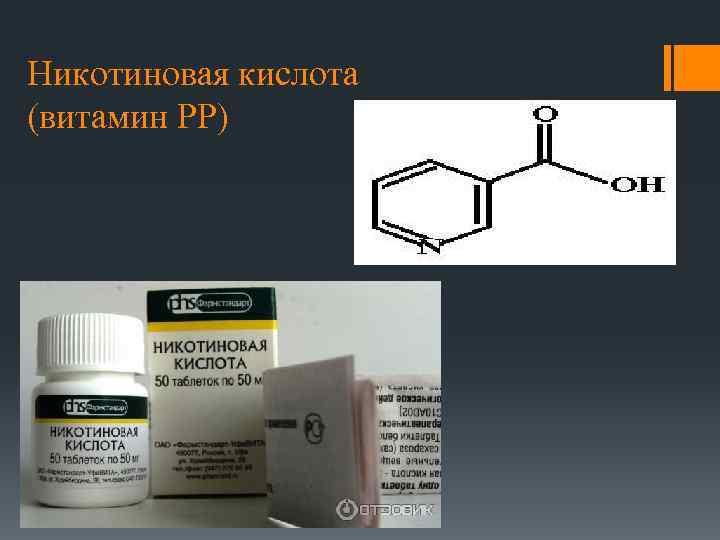 Никотиновая кислота (витамин PP)