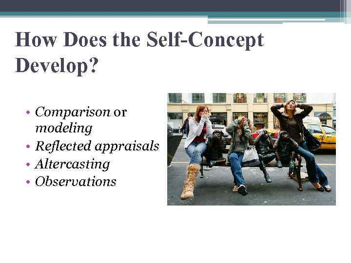 communication and the self concept Students will understand the relationship between the self and interpersonal communication interpersonal communication 8 self-concept.