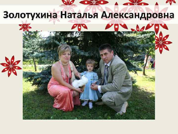 Золотухина Наталья Александровна