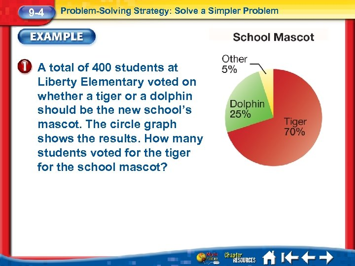 9 -4 Problem-Solving Strategy: Solve a Simpler Problem A total of 400 students at