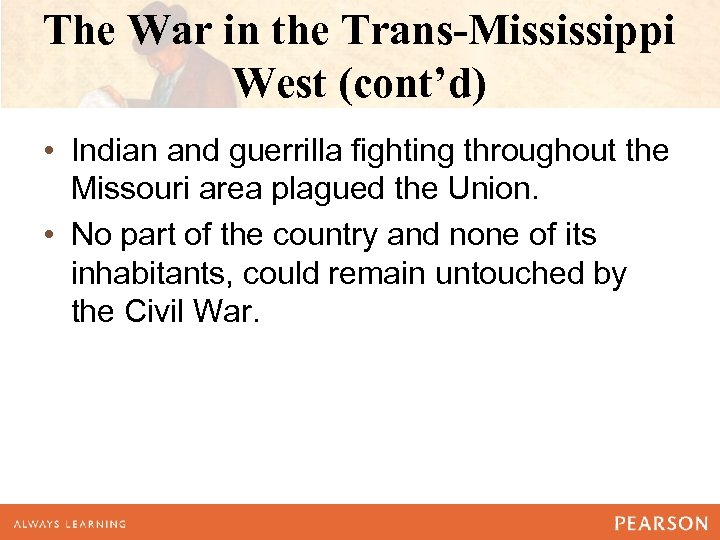 an examination of the statement on the economic development of the trans mississippi west being depe Superfund record of decision national starch & chemical, nc second remedial  3 to mississippi  we find 16 out about what are their economic concerns,.
