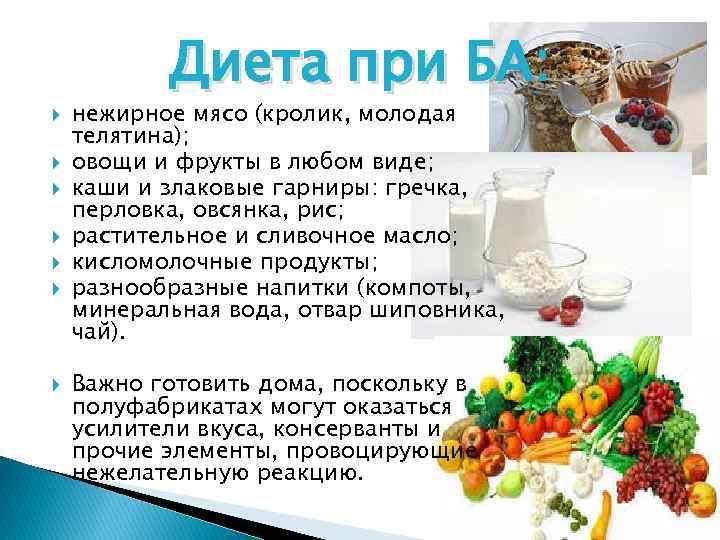 Гипоаллергенная диета бронхиальной астмы