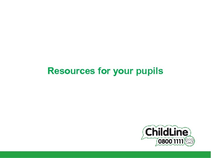 Resources for your pupils