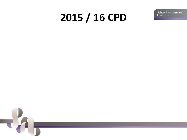 2015 / 16 CPD