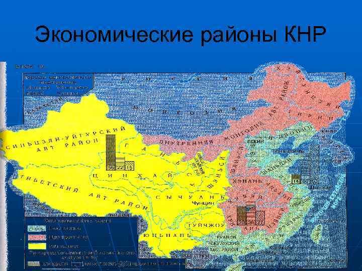 Экономические районы КНР