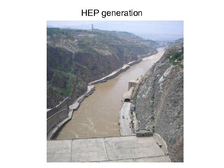 HEP generation