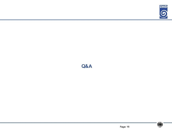 Q&A Page: 16
