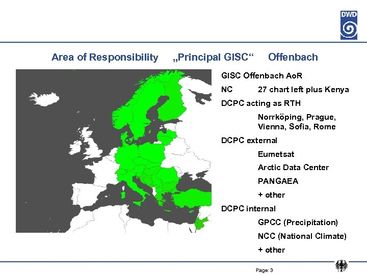 "Area of Responsibility ""Principal GISC"" Offenbach GISC Offenbach Ao. R NC 27 chart left"
