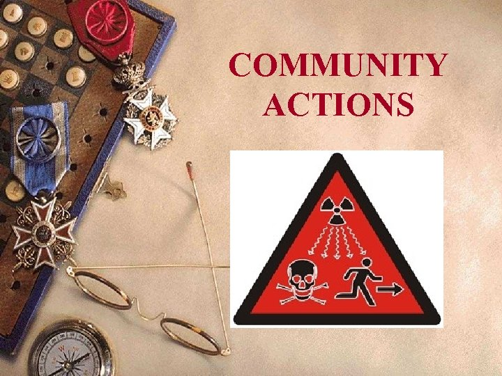 COMMUNITY ACTIONS