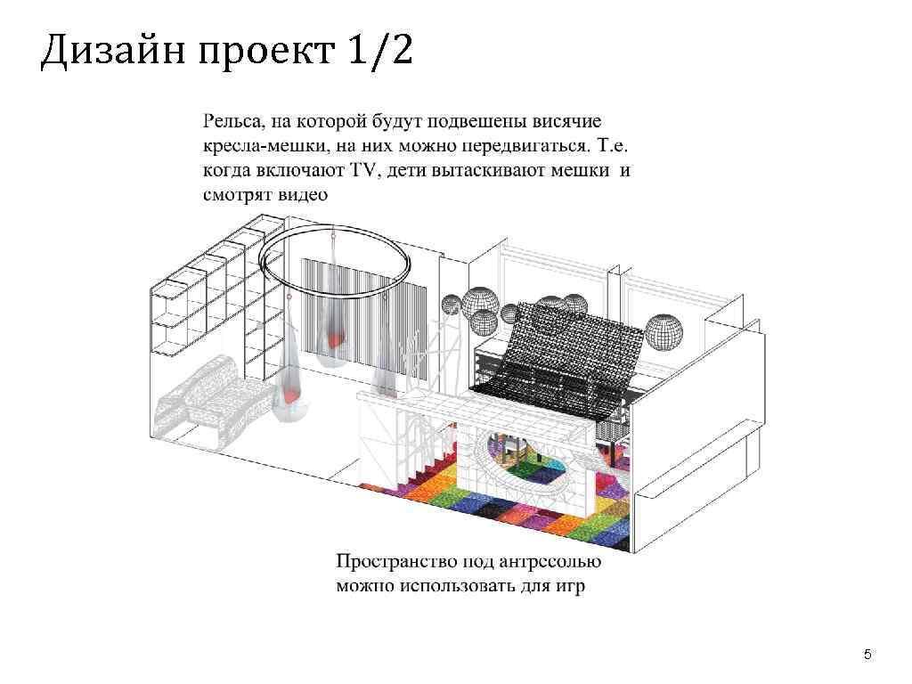 Дизайн проект 1/2 5