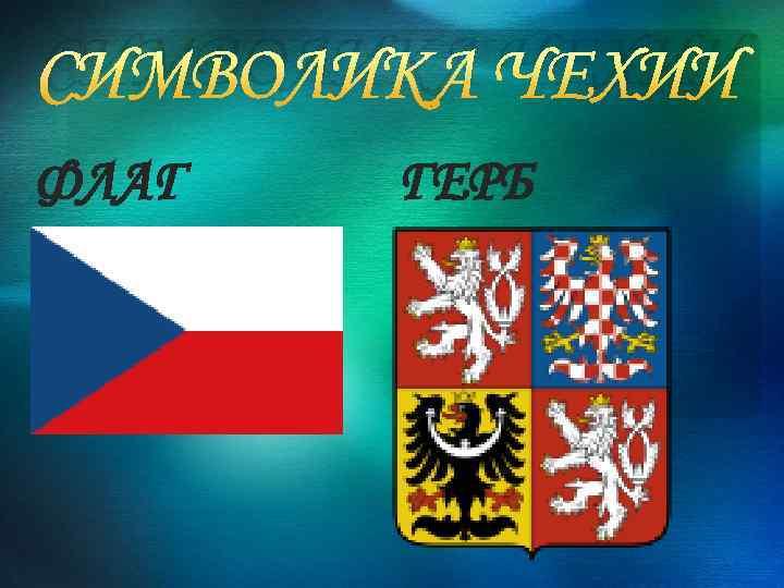 Чешский флаг герб фото