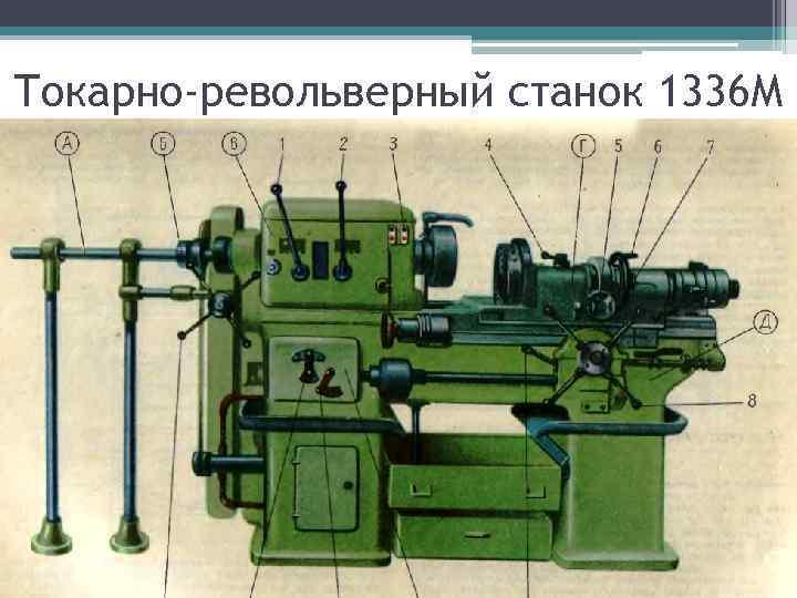 Токарно-револьверный станок 1336 М
