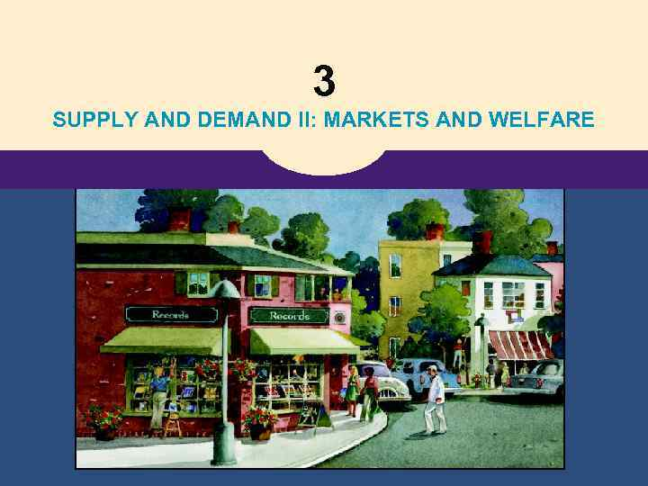 3 SUPPLY AND DEMAND II: MARKETS AND WELFARE