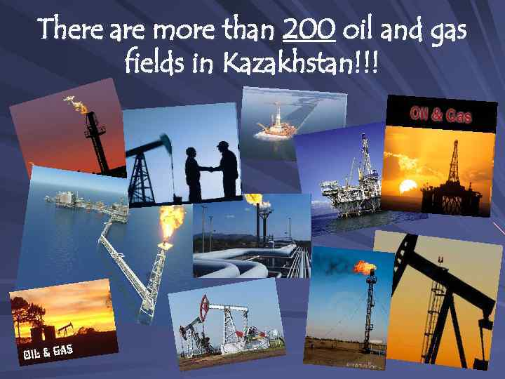 Oil and Gas industry in the Republic of
