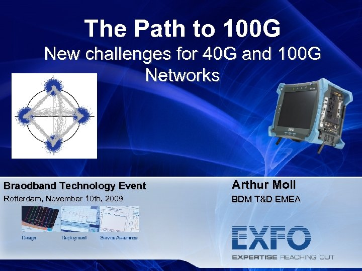 The Path to 100 G New challenges for 40 G and 100 G Networks