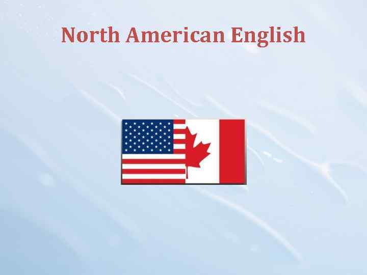 North American English