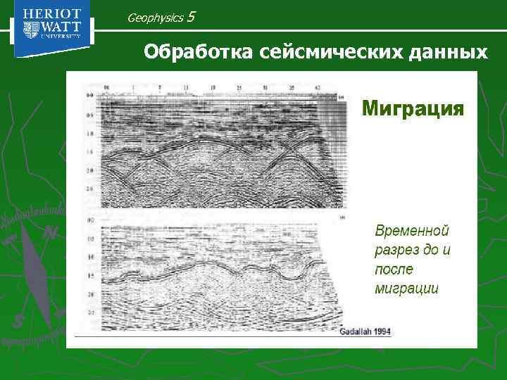 Geophysics 5 Обработка сейсмических данных